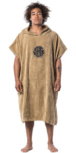 2020 Rip Curl Hooded Changing Robe / Poncho CTWAI4 - Dark Khaki