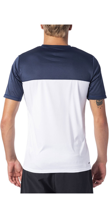 2020 Rip Curl Mens Rapture Short Sleeve UV T-Shirt WLY9BM - Navy
