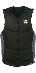 2020 Prolimit Full Padded Front Zip Slider Impact Vest 63012 - Black / Orange