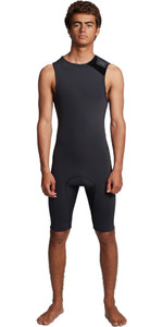 2020 Billabong Mens Revolution 2mm Short John Wetsuit S42M61 - Black Camo
