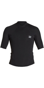 2020 Billabong Mens Absolute 2mm Short Sleeve Neoprene Jacket S42M74 - Black