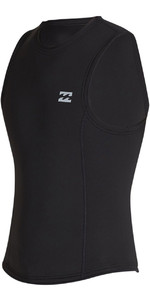 2020 Billabong Mens Absolute 2mm Neoprene Vest S42M75 - Black