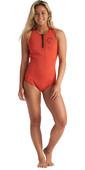 2020 Billabong Womens Shorty Jane 1mm Crossback Spring Wetsuit S41G62 - Samba