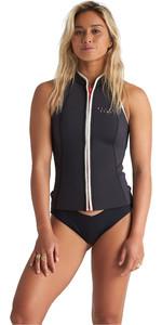 2020 Billabong Womens Eco Salty Daze 1mm Neoprene Vest S41G50 - Onyx