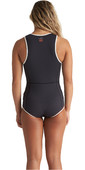 2020 Billabong Womens Eco Sol Sistah 2mm Sleeveless Shorty Wetsuit S42G52 - Onyx