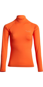 2020 Billabong Womens Surf Capsule Logo Long Sleeve Rash Vest S4GY10 - Samba