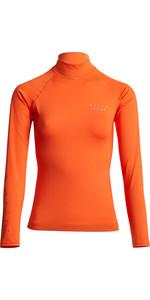 2020 Billabong Womens Surf Capsule Logo Long Sleeve Rash Vest S4GY10 - Samba