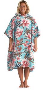 2020 Billabong Womens Hooded Poncho Change Towel S4BR50 - Waterfall
