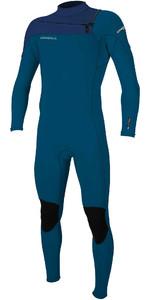 2020 O'Neill Mens Hammer 3/2mm Chest Zip Wetsuit 4926 - Blue / Navy