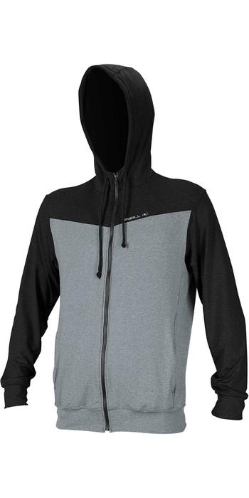 2020 O'Neill Mens Hybrid Sun Hoody 4883 - Cool Grey / Black