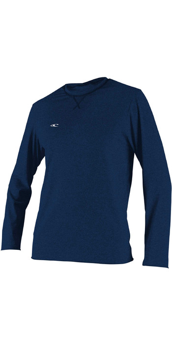 2020 O'Neill Mens Hybrid Long Sleeve Surf Tee 4879 - Abyss