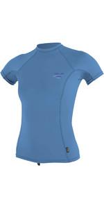 2020 O'Neill Womens Premium Skins Short Sleeve Rash Vest 4171B - Periwinkle