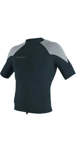 2021 O'Neill Mens Reactor II 1mm Neoprene Short Sleeve Top 5081 - Slate / Cool Grey