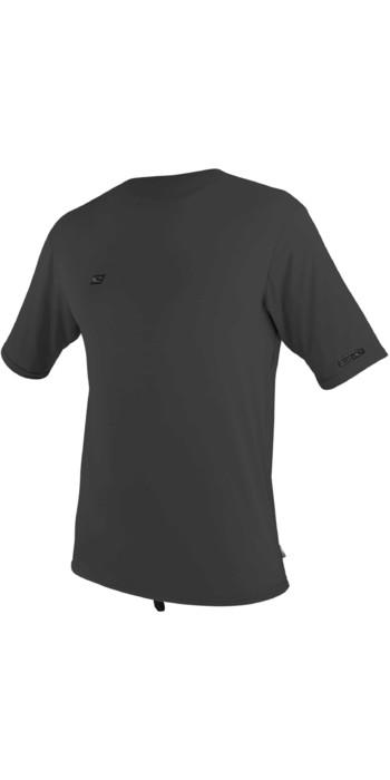 2020 O'Neill Mens Premium Skins Short Sleeve Sun Shirt 5301 - Raven