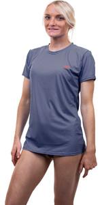 2020 O'Neill Womens Premium Skins Short Sleeve Sun Shirt 5302 - Mist