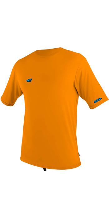2020 O'Neill Youth Premium Skins Short Sleeve Sun Shirt 5303 - Blaze
