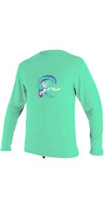 2020 O'Neill Toddler O'Zone Long Sleeve Sun Shirt 5326 - Light Aqua