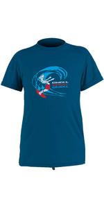 2020 O'Neill Toddler O'Zone Short Sleeve Sun Shirt 5325 - Ultra Blue