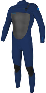 2021 O'Neill Mens Epic 3/2mm Chest Zip Wetsuit 5353 - Navy