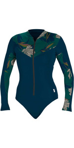 2020 O'Neill Womens Full Zip Long Sleeve Surf Suit 5408S - French Navy / Bridget