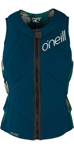 2021 O'Neill Womens Slasher Comp Impact Vest 4938EU - French Navy / Bridget