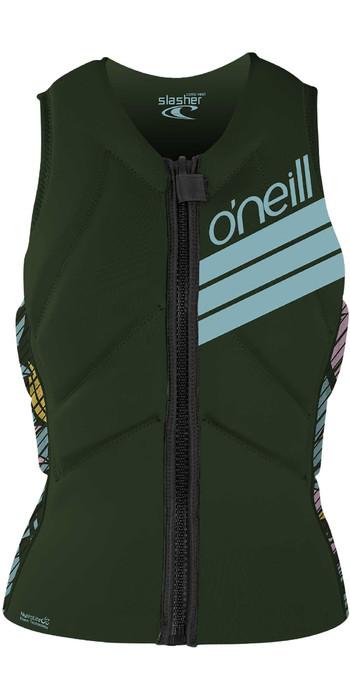 2020 O'Neill Womens Slasher Kite Impact Vest 4943EU - Dark Olive / Baylen