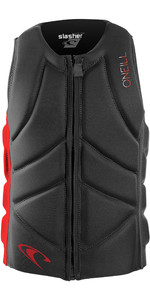 2020 O'Neill Youth Slasher Comp Impact Vest 4940BEU - Graphite / Red