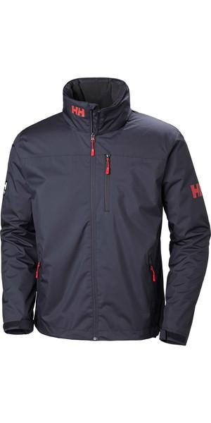 2019 Helly Hansen Crew Jacket Graphite Blue 30263
