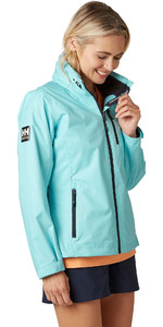 2020 Helly Hansen Womens Hooded Crew Mid Layer Jacket 33891 - Glacier Blue