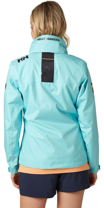 2020 Helly Hansen Womens Hooded Crew Mid Layer Jacket 33891 - Glacier Blue