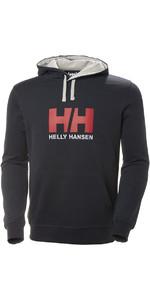 2021 Helly Hansen HH Logo Hoodie Navy 33977