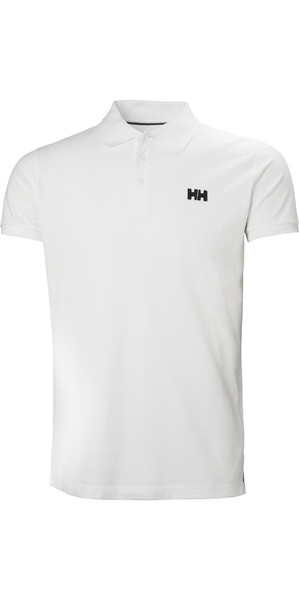 2018 Helly Hansen Transat Polo Shirt White 33980