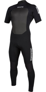 2020 Mystic Mens Star 3/2mm Short Sleeve Back Zip Wetsuit 200064 - Black