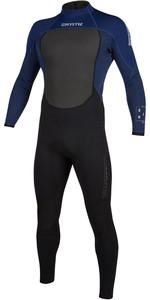 2020 Mystic Mens Brand 3/2mm Back Zip Wetsuit 200066 - Navy