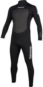 2020 Mystic Mens Brand 3/2mm Back Zip Wetsuit 200066 - Black