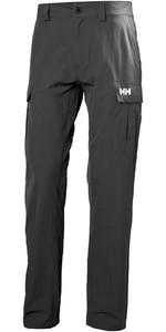 2020 Helly Hansen QD Cargo Trousers Ebony 33996