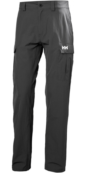 2020 Helly Hansen QD Cargo Trousers Ebony 33996