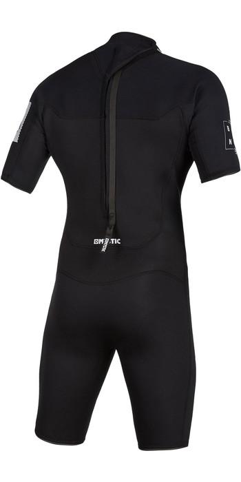 2021 Mystic Mens Brand 3/2mm Back Zip Shorty Wetsuit 200070 - Black