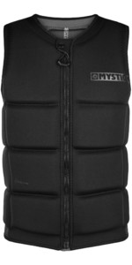 2021 Mystic Mens Star Impact Vest Front Zip 200182 - Black