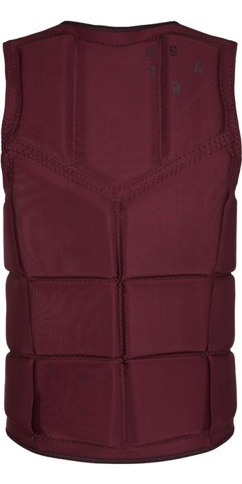 2020 Mystic Mens Star Impact Vest Front Zip 200182 - Oxblood Red