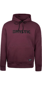 2021 Mystic Mens Brand Hood Sweat 190035 - Oxblood Red