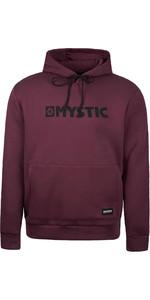 2020 Mystic Mens Brand Hood Sweat 190035 - Oxblood Red