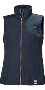 2019 Helly Hansen Womens Crew Insulator Vest Navy 34072
