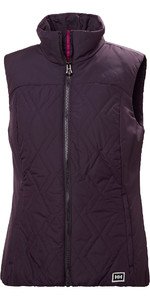 2019 Helly Hansen Womens Crew Insulator Vest Purple 34072