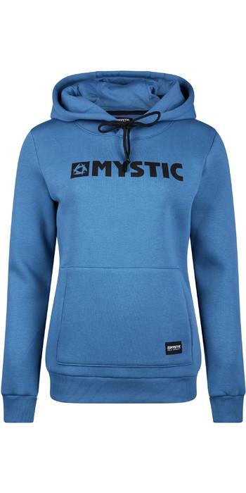 2020 Mystic Womens Brand Hoodie 190537 - Denim Blue
