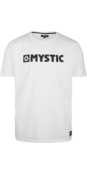 2020 Mystic Mens Brand T-Shirt 190015 - White