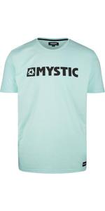 2020 Mystic Mens Brand T-Shirt 190015 - Mint Green