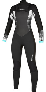 2020 Mystic Womens Diva 3/2mm Double Chest Zip Wetsuit 200021 - Black