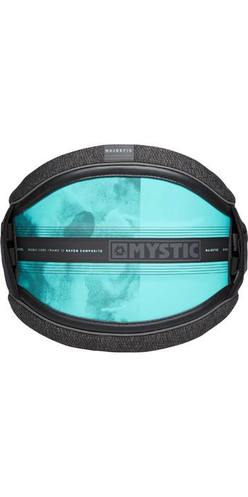 2021 Mystic Majestic Kite Waist Harness 190109 - Black / Mint