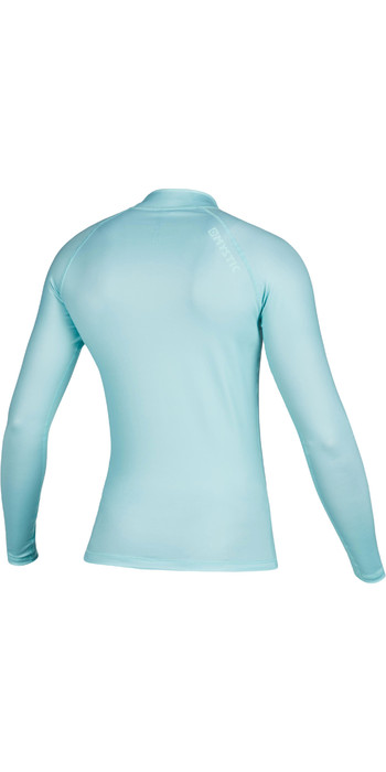 2020 Mystic Womens Star Long Sleeve Rash Vest 200154 - Mist Mint